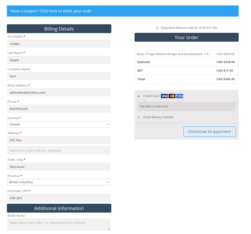 Customizing Woocommerce Checkout Page with CSS | BuyProTheme