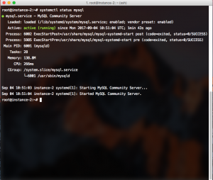 Check MySQL is installed