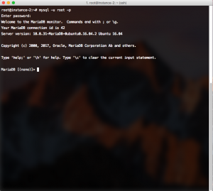 Check MariaDB is Installed and running