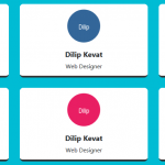Responsive Team Design Section with Pure CSS Effect